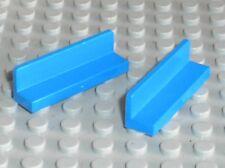 2 x LEGO Blue Panel 30413 15207 43337 / set 10758 60174 60204 9094 4207 8168 ...