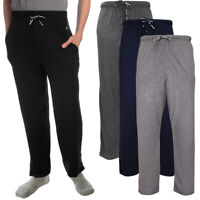 HEAD Casual Lounge Mens Pants With Pockets Elastic Flyless Pajama Bottoms