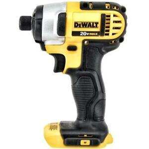 New Dewalt 20 Volt Max Impact Driver Model # DCF885