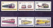 Germany Berlin 9N305-10 MNH 1971 Various Trains and Streetcars Full Set VF