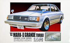 Arii Owners Club 1/24 20 1982 Toyota Mark II 1/24 scale kit (Microace)