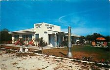 Largo Florida~Seminole Section~Oak Rest Apartments~1950s Postcard