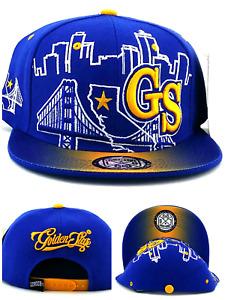 Golden State New GS Youth Kids Skyline Bridge Warriors Blue Era Snapback Hat Cap