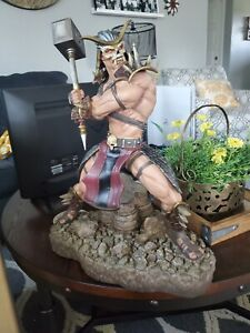Mortal Kombat Shao Khan Statue