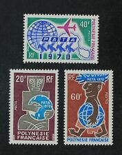 CKStamps: France Stamps Collection French Polynesia Scott#258-260 Mint H OG