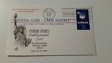 US FDC: United States World Vacationland 7 Cent
