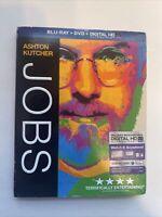 Jobs w/ Slipcover (Bluray/DVD, 2013) [BUY 2 GET 1]