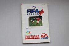 Fifa Instruction 96 Manual Snes