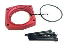 RED THROTTLE BODY SPACER for 2009 to 2014 NISSAN MAXIMA 3.5L V6