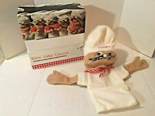Vintage Chef Combo Puppet with Nutrition Learning Accessories