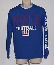 New York Giants Junk Food Men's Small Blue Long Sleeve Shirt