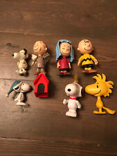 New ListingPeanuts 4 Christmas Nativity Figure Set + 4 Other Snoopy Peanuts Figures 8 Total