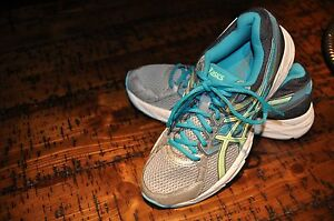 RUNNING SHOE SIZE 7 ASICS GEL CONTEND 3 T5F9N WOMENS RUNNING SHOES