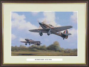 """Hawker Hurricane picture """"Hurricanes - July 1944"""" by Barry Price  - NGN60"""