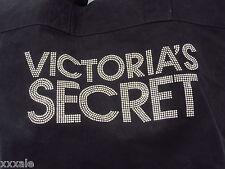 VTG Victoria's Secret Black Canvas Bag Tote Studded Bling 21 X 14 1/2  $40