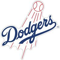 "Los Angeles Dodgers MLB Color Die Cut Vinyl Decal - You Choose Size 3""-29"""