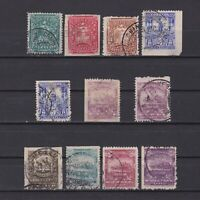 MEXICO 1895, Sc# 242-253, CV $40, Part set, Used