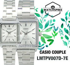 Casio Couple Watch  LTPV007D-7E MTPV007D-7E