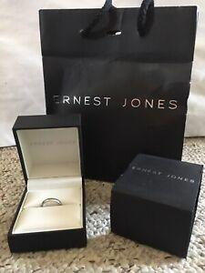 Ernest Jones Platinum Ring RRP £799 Size i