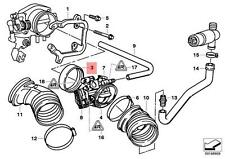 Genuine BMW E34 Throttle Housing Seal OEM 13541703693