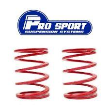 2x Prosport Red Coilover Helper Springs Length 95mm, Inside diameter 63mm
