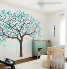 Huge Baby Nursery Bird Tree Wall Stickers Decals Kids Boy Girl Decor Arts Gift