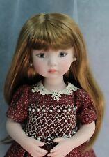 "Doll wig for Dianna Effner Little Darling dolls-Other 13"" Dolls (Size 7/8) Brown"