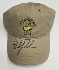 Phil Mickelson - Autographed Golf Hat w/ JSA Authentication Label and COA