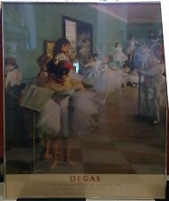 Metropolitan Museum of Art Degas The Dance Class Poster 1988-89-NonProfit