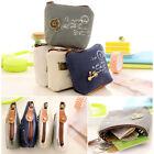3x Fashion Women Girl Retro Zipper Coin Bag Purse Wallet Card Case Handbag Gifts