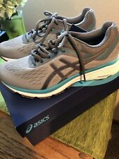 Asics GT-1000 7 Stone Grey/Carbon Womens Athletic Running Shoes Size 7 New