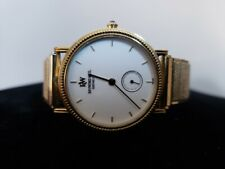VTG  RAYMOND WEIL WATCH 18K GOLD PLATED 9825