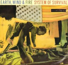 Earth, Wind & Fire(Vinyl LP)System Of Survival-CBS-EWF T1-UK-1987-VG/VG