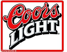 Coors Light Beer Label  Refrigerator / Tool Box  Magnet