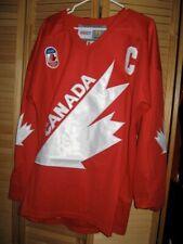 HOCKEY JERSEY 1991 Team Canada Lemieux Gretzky Messier Bourque Hawerchuk Orr