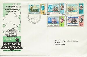 Pitcairn Isles  Comm/FDC - Bicentenary of Discovery of - 1967 (2010)Q