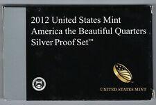 USA: America the Beautiful Quarters Silver Proof Set 2012