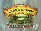 Sierra Nevada KELLERWEIS Beer Pilsner Glass Half Liter Tall 9 Inches
