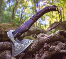 """Premium Viking Combat  Axe """"Scandinavian Runa""""  Handmade Custom Handforged"""