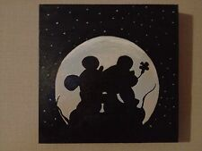 Disney Mickey And Minnie Mouse Silhouette