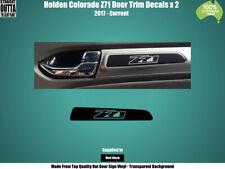 HOLDEN COLORADO Z71 - DOOR TRIM DECALS x 2