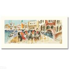 "Michael Rozenvain ""Orchestal Balcony II"" Serigraph on Canvas w/coa 14/60 HS"