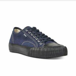 Polo Ralph Lauren | Xander Low-Top Navy Sneakers | Size 9