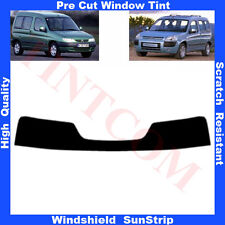 Pre Cut Window Tint Sunstrip for Citroen Berlingo 5 Doors 1997-2009 AnyShade