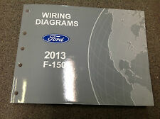 2013 Ford TRUCK F150 F-150 Wiring Electrical Diagram Shop Manual OEM Factory