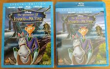 The Adventures of Ichabod and Mr. Toad (Blu-ray/DVD, 2014, 2-Disc, *NO Digital*)