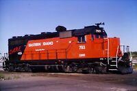 Original Slide Eastern Idaho Railroad 793 GP-35 Twin Falls ID 1996 DARE Livery