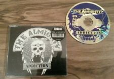 THE ALMIGHTY ADDICTION LIMITED EDITION (759) CD SINGLE NUMBERED CASE 1993 MINT