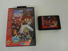 Nfl Football 94 Starring Joe Montana Sega Genesis Tested & Working No Manual