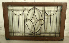 Vintage Clear Glass Window Panel (05541)NS
